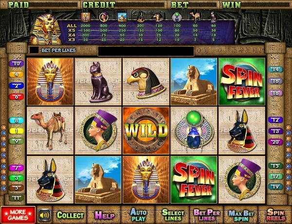 video slot pharaos nights