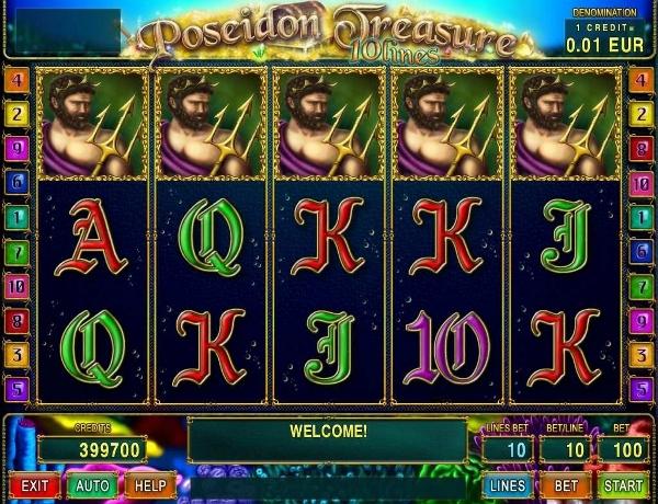 Spiele PoseidonS Treasure - Video Slots Online